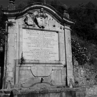 Prossedi - Fontana Papa Benedetto XIII - Monti Lepini