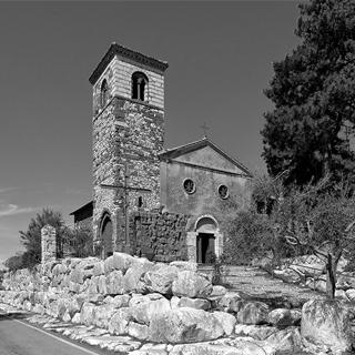 Segni - Chiesa di San Pietro - Monti Lepini