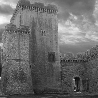 Sermoneta - Castello Caetani - Monti Lepini