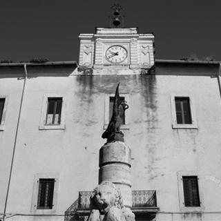 Sezze - Piazza dei Leoni - Monti Lepini