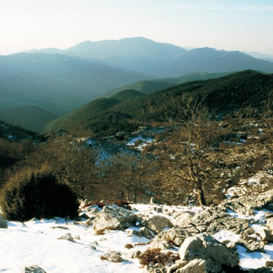 La neve sui Lepini
