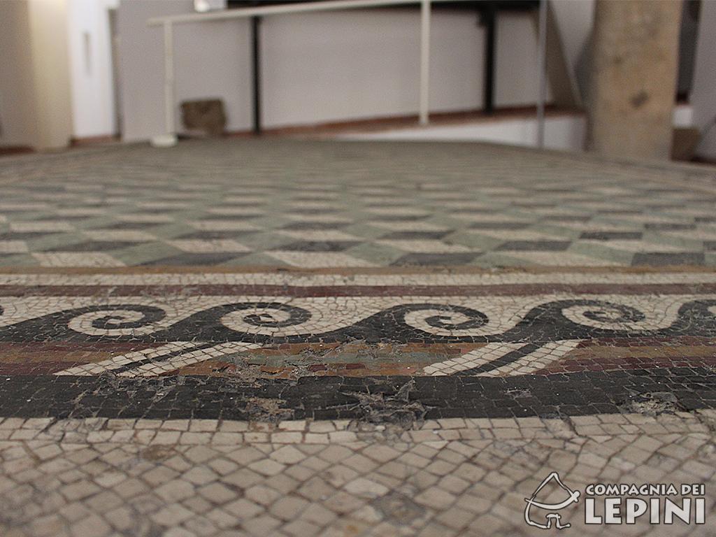 Mosaico policromo - prima metà I secolo a.C