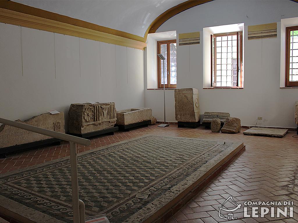 Sala del Mosaico - piano terra