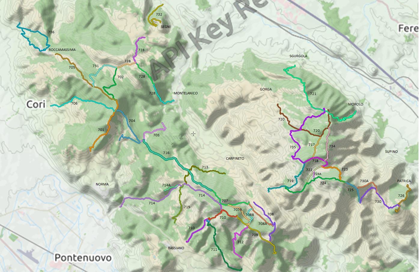 mappa-trekking