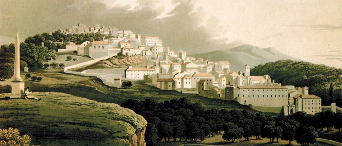 Fig.4 : John-I. Middleton, General View of the City of Cora, 1814.