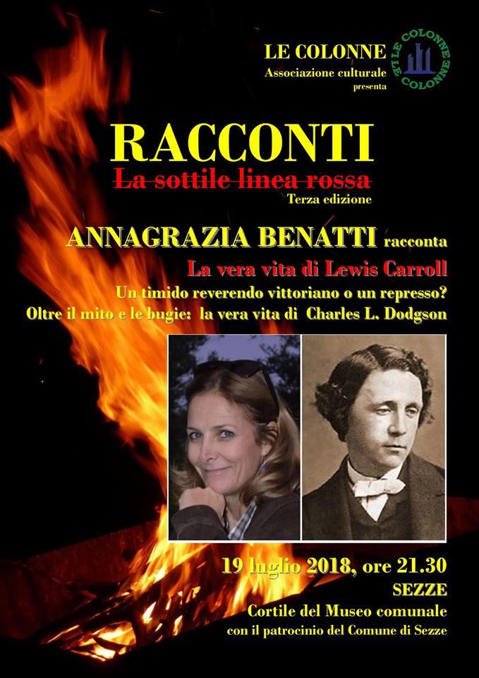Sezze: La vera vita di Lewis Carrol @ Cortile Museo Comunale | Sezze | Lazio | Italia