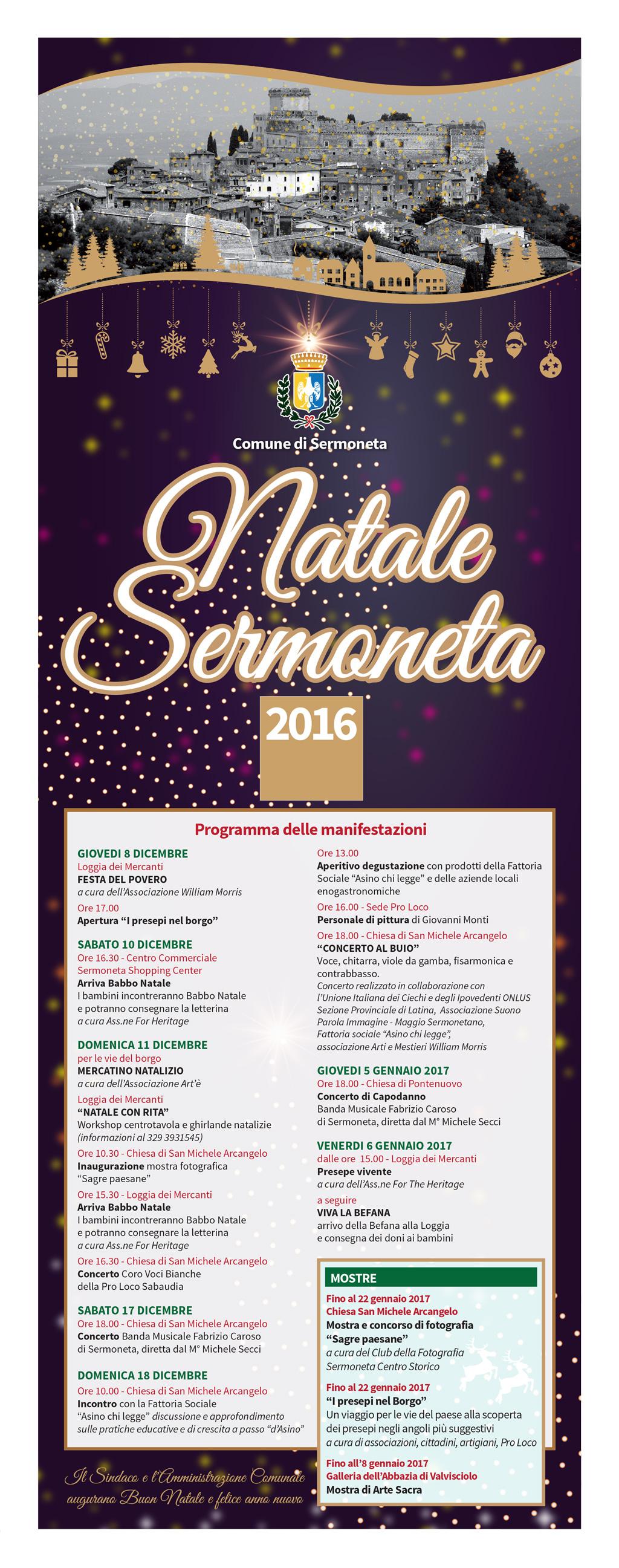 Natale Sermoneta 2016
