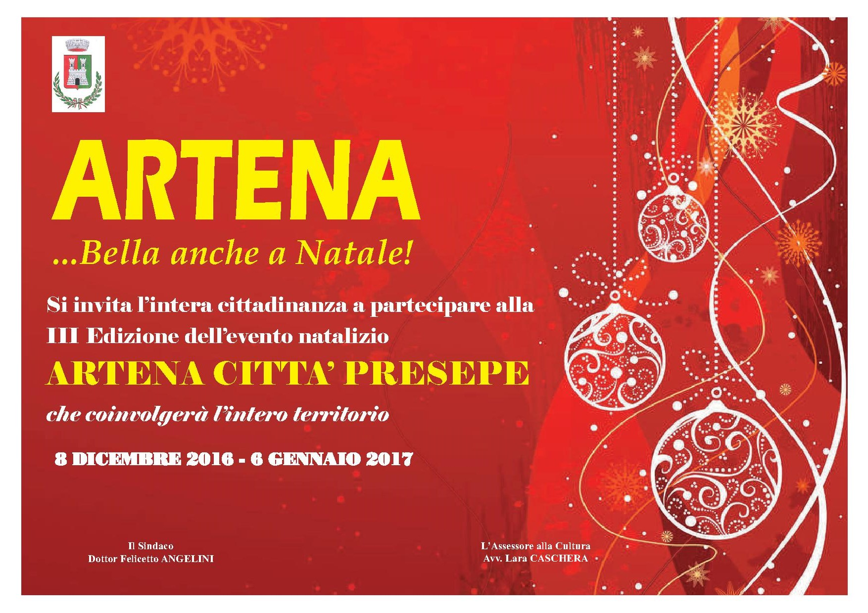 Natale ad Artena 2016 Città Presepe
