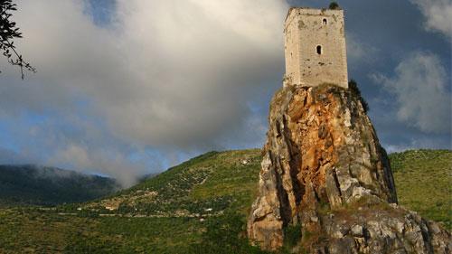 La torre medievale di Monticchio