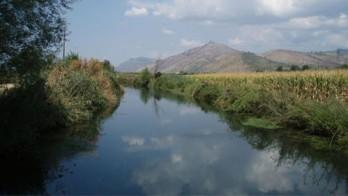 Il fiume Ufente a Sezze