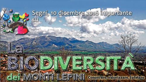 Biodiversità sui Monti Lepini