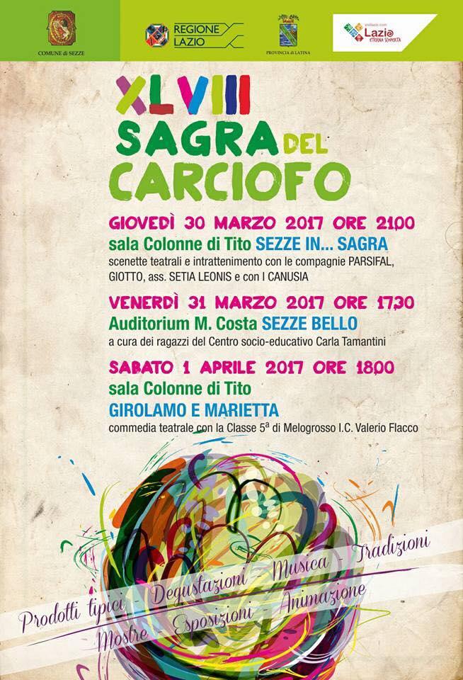 Sagra del Carciofo 2017 a Sezze - Eventi