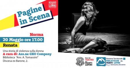 Pagine in Scena 2017 - Associazione GKO Company - Norma