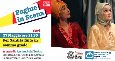 Pagine in Scena 2017 - Associazione Acta Teatro - Cori