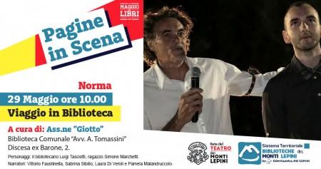 Pagine in Scena 2017 - Associazione Giotto - Norma