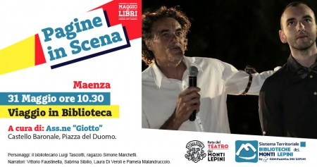 Pagine in Scena 2017 - Associazione Giotto - Maenza