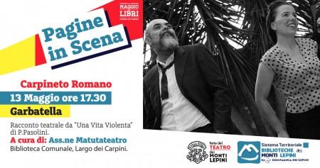 Pagine in Scena 2017 - Associazione Matutateatro - Carpineto Romano