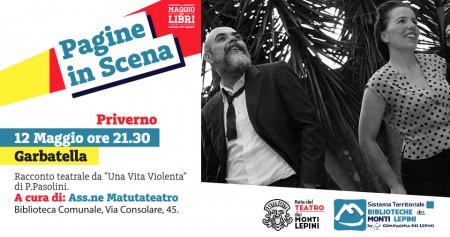 Pagine in Scena 2017 - Associazione Matutateatro- Priverno