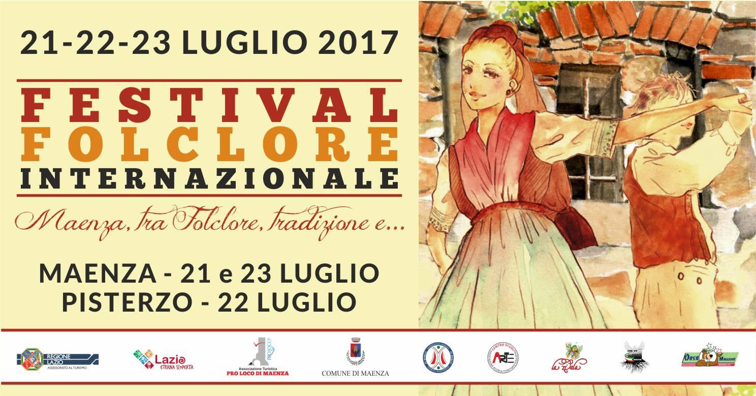 Festival del Folclore Internazionale a Maenza 2017