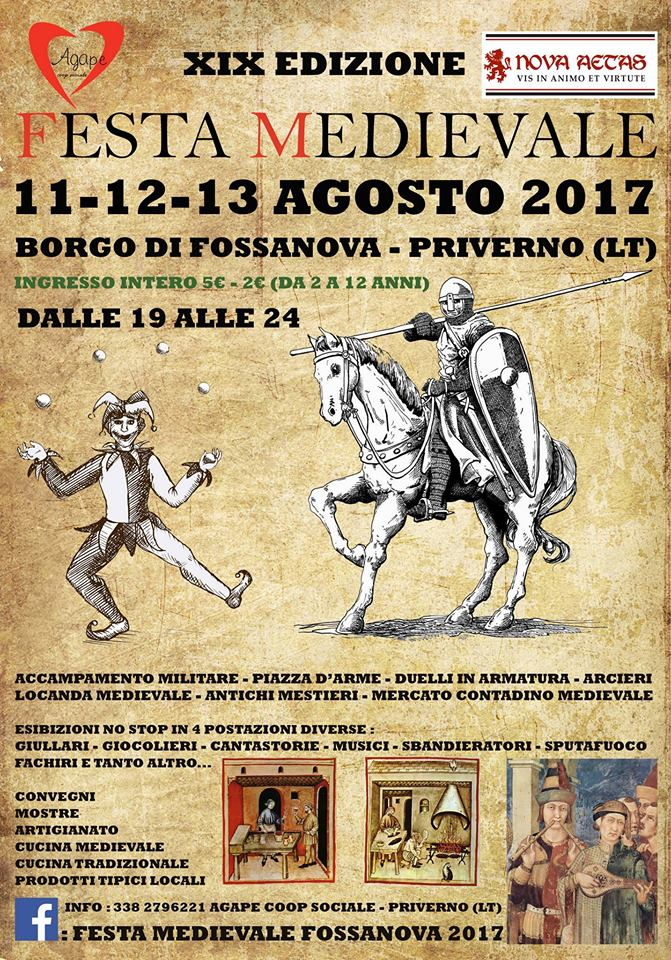 Festa medievale Fossanova