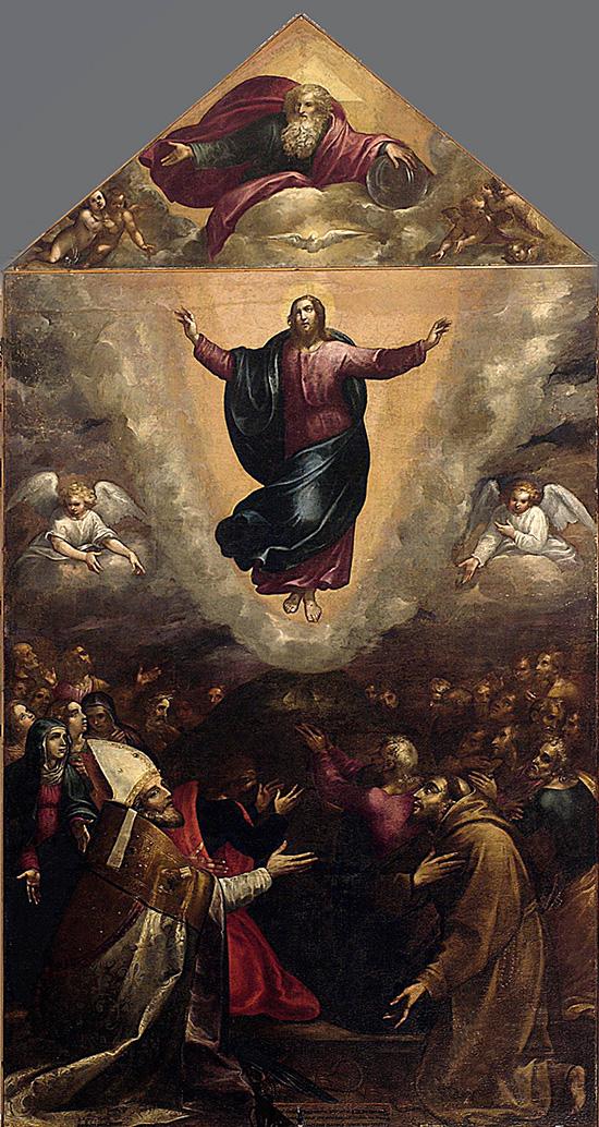 """ill.8 : Chiesa di S.Erasmo, """"Ascensione""""."""