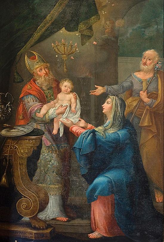 ill.3 : Domenico Fiorentini, La circoncisione di Gesù.
