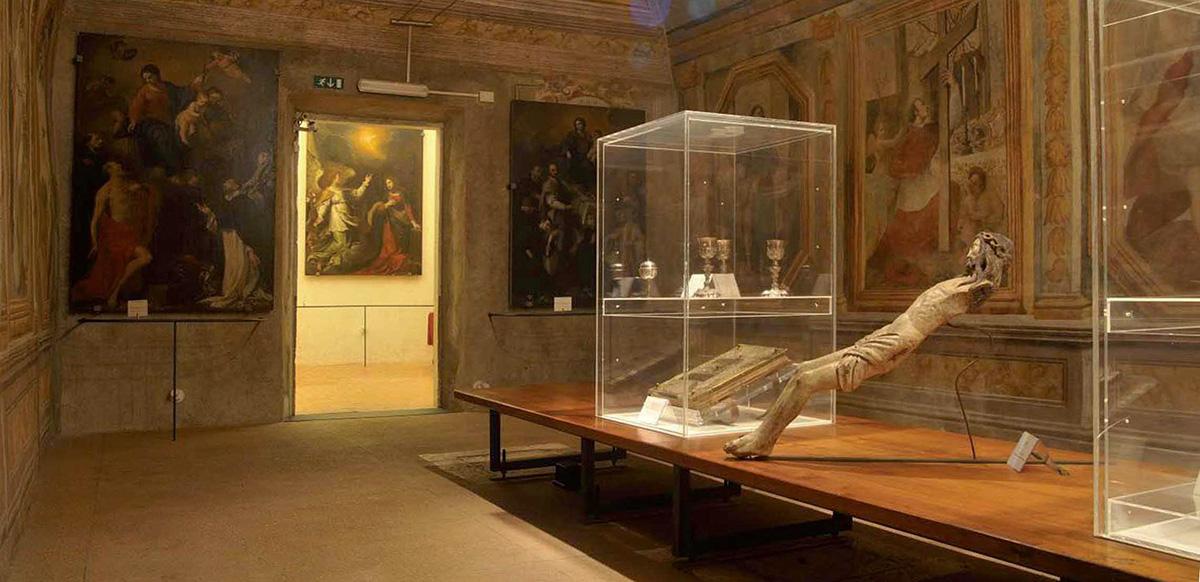 ill. 6 : Museo diocesano, Sala dei Battenti, sec. XV.