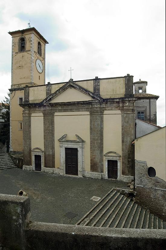 ill.5 : Chiesa di Santa Maria della Pietà, la facciata.