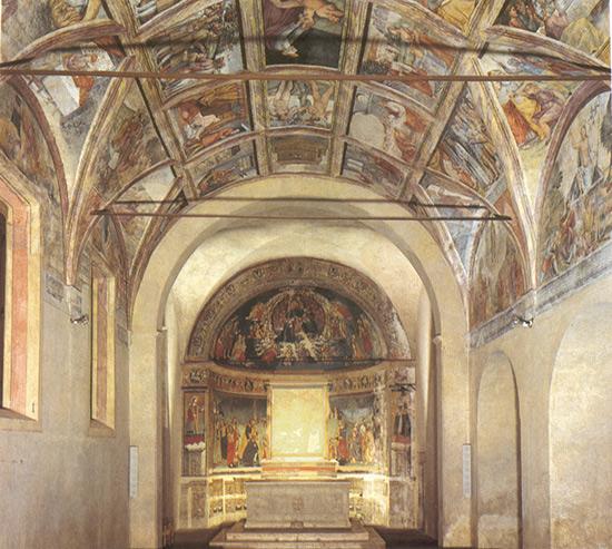 ill.11 : Cappella del Crocefisso, abside.