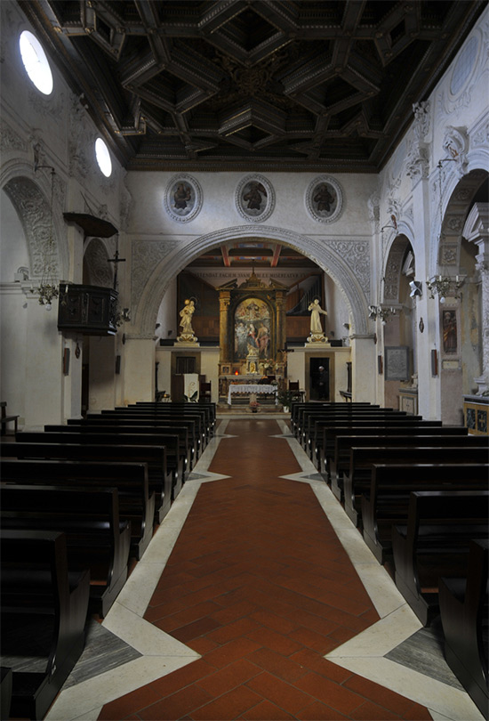 ill.18 : Chiesa di San Francesco, interno.