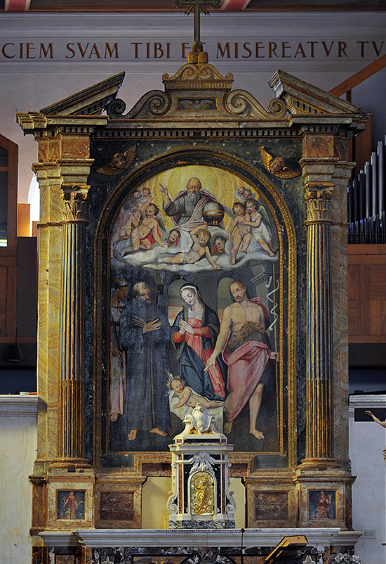 ill.17 : Chiesa di San Francesco, pala d'altare.