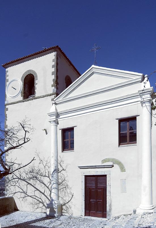 ill.14 : Chiesa del SS. Salvatore, la facciata.