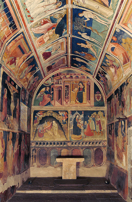 ill.2 : Oratorio dell'Annunziata, la Cappella.