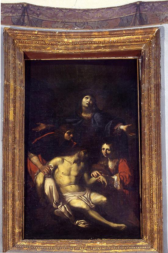 """ill.9 : Chiesa di Santa Maria della Pietà, """"La Pietà""""."""