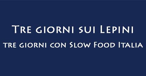 Tre giorni Slow Food monti Lepini