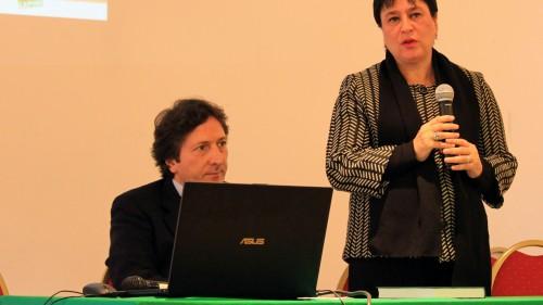 Quirino Briganti e Carla Amici