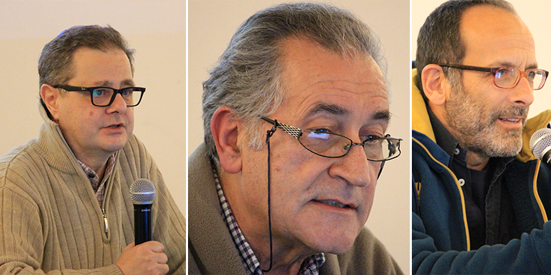 Ermanno De Pisi, Luigi Marozza e Federico Cauli