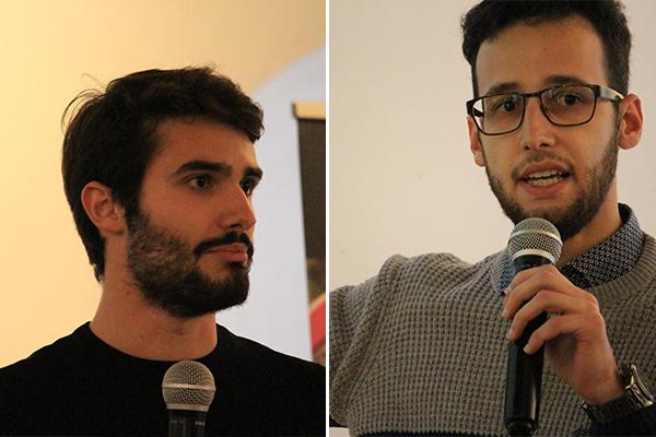 I naturalisti Riccardo Novaga e Raffaele Zicarelli