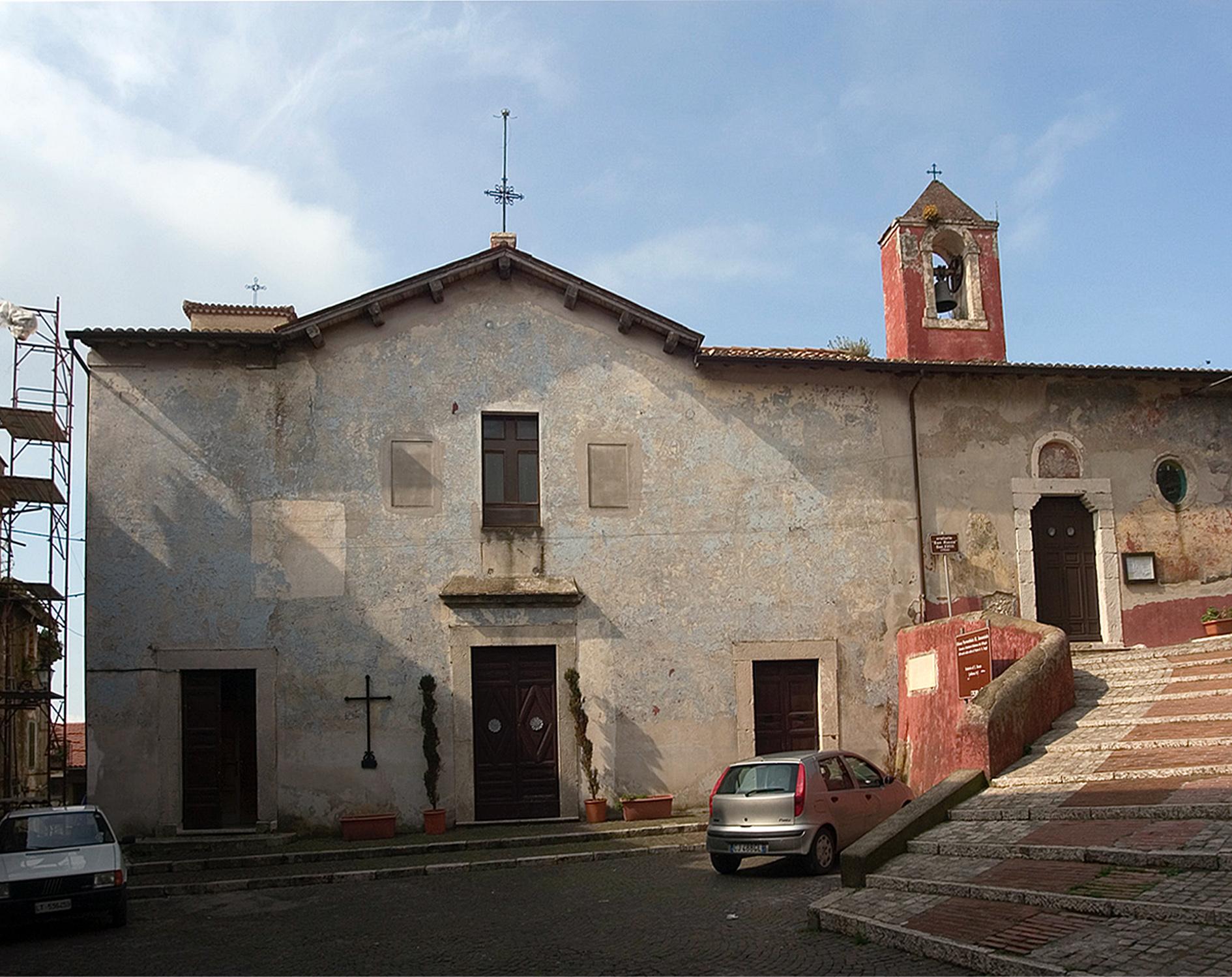ill.1: Chiesa dell'Annunziata, facciata, XIX secolo