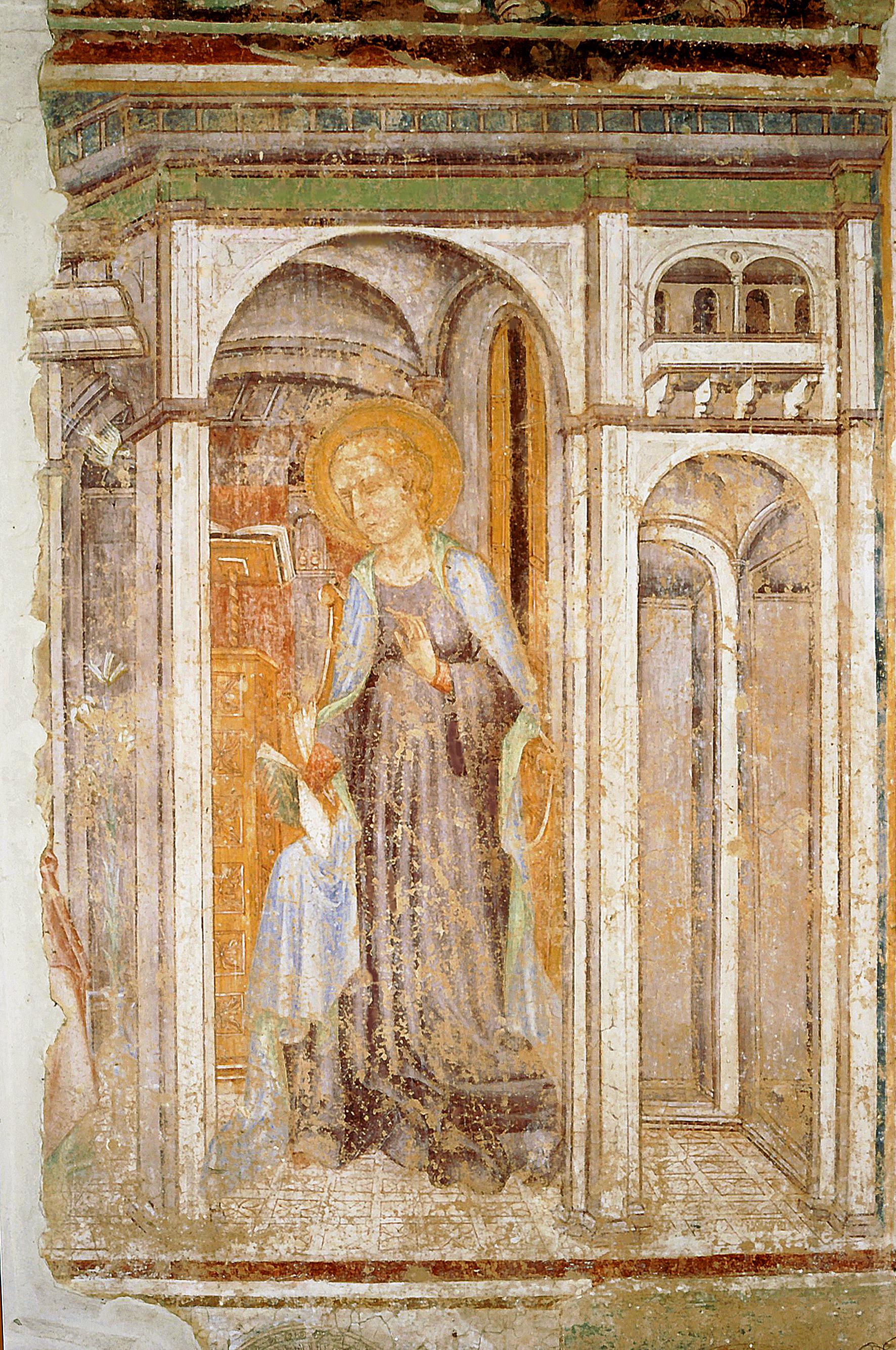 ill.10: Pietro Coleberti (attr.) - Annunciazione, sec.XV
