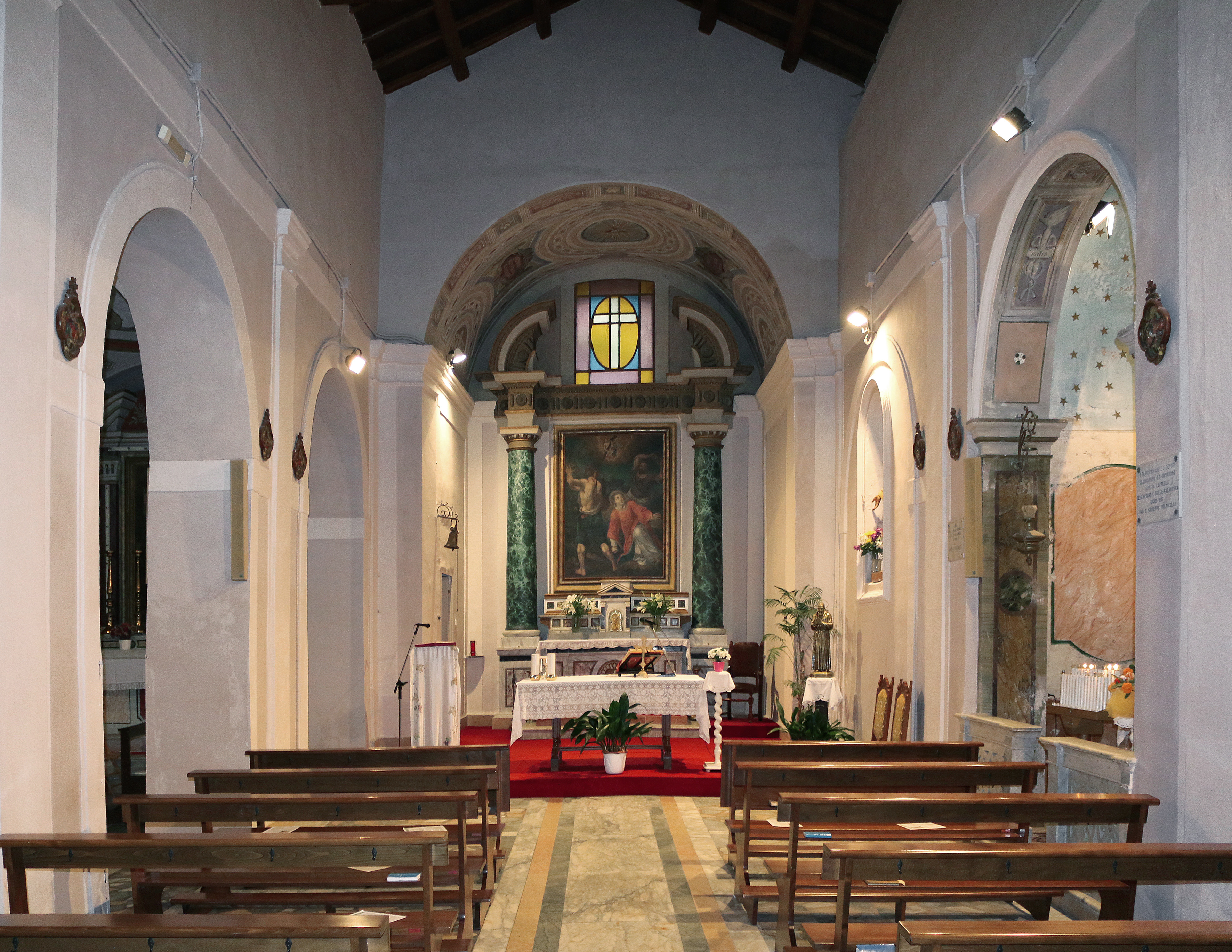 ill. 10: Chiesa di Santo Stefano (sec. XVI-XVII)