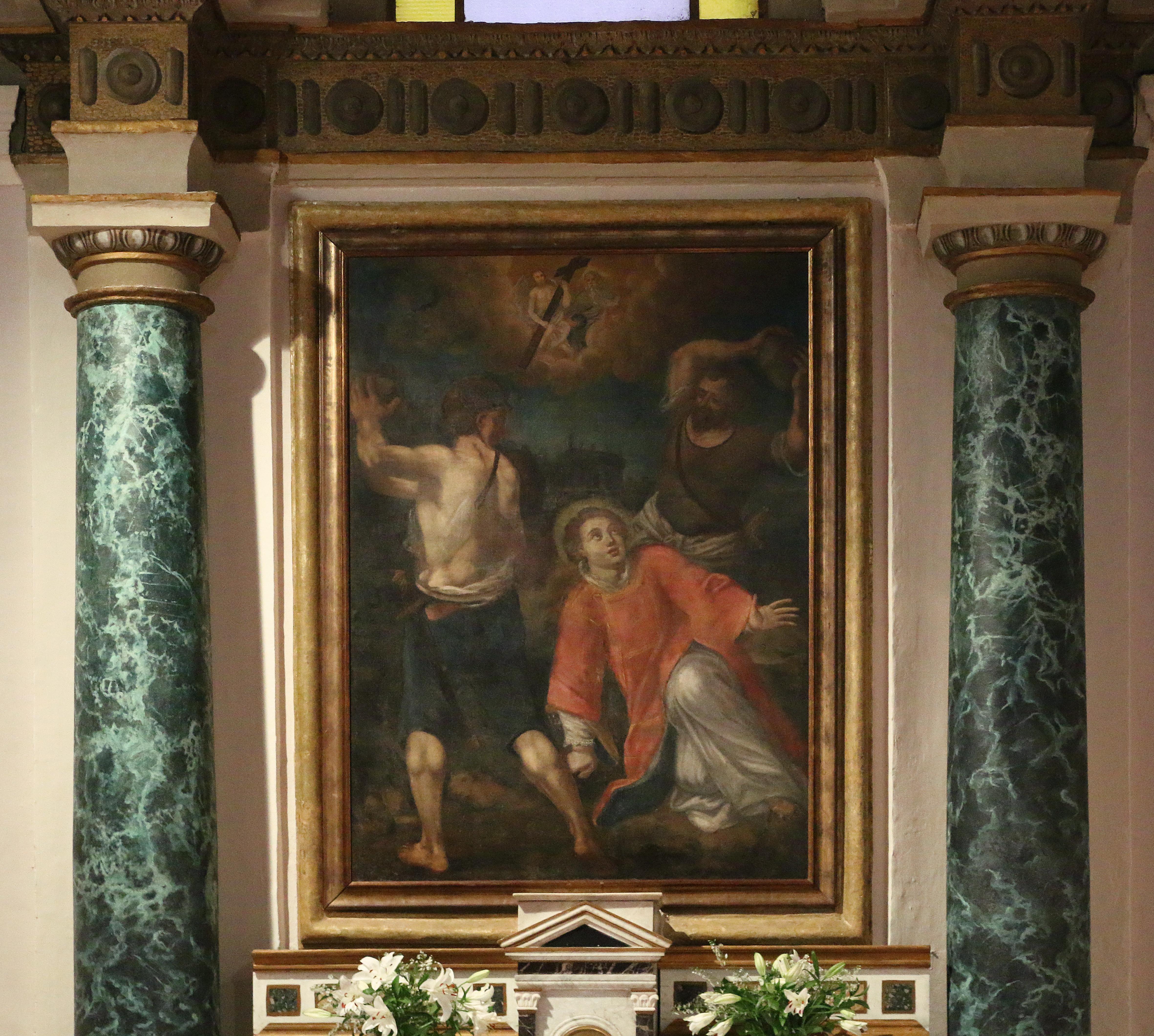 ill. 11: Autore ignoto, Martirio di Santo Stefano (sec. XII)