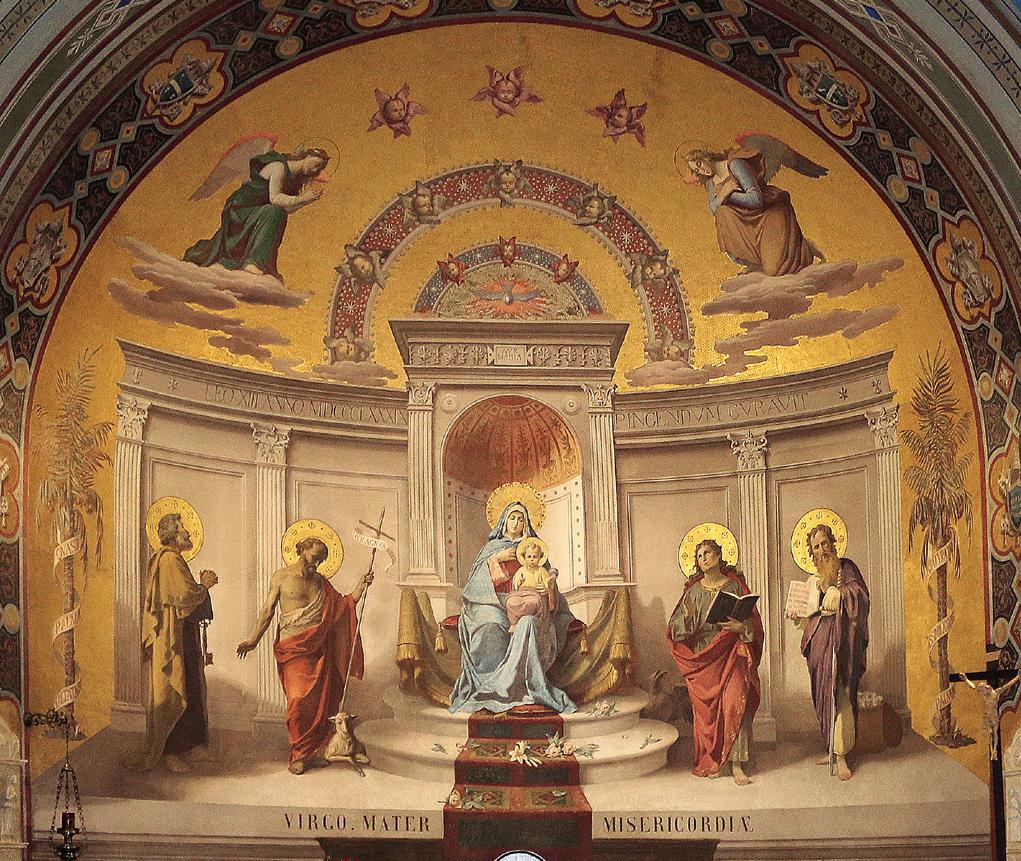 ill. 11 : Virginio Monti (1889), Madonna con Bambino e santi