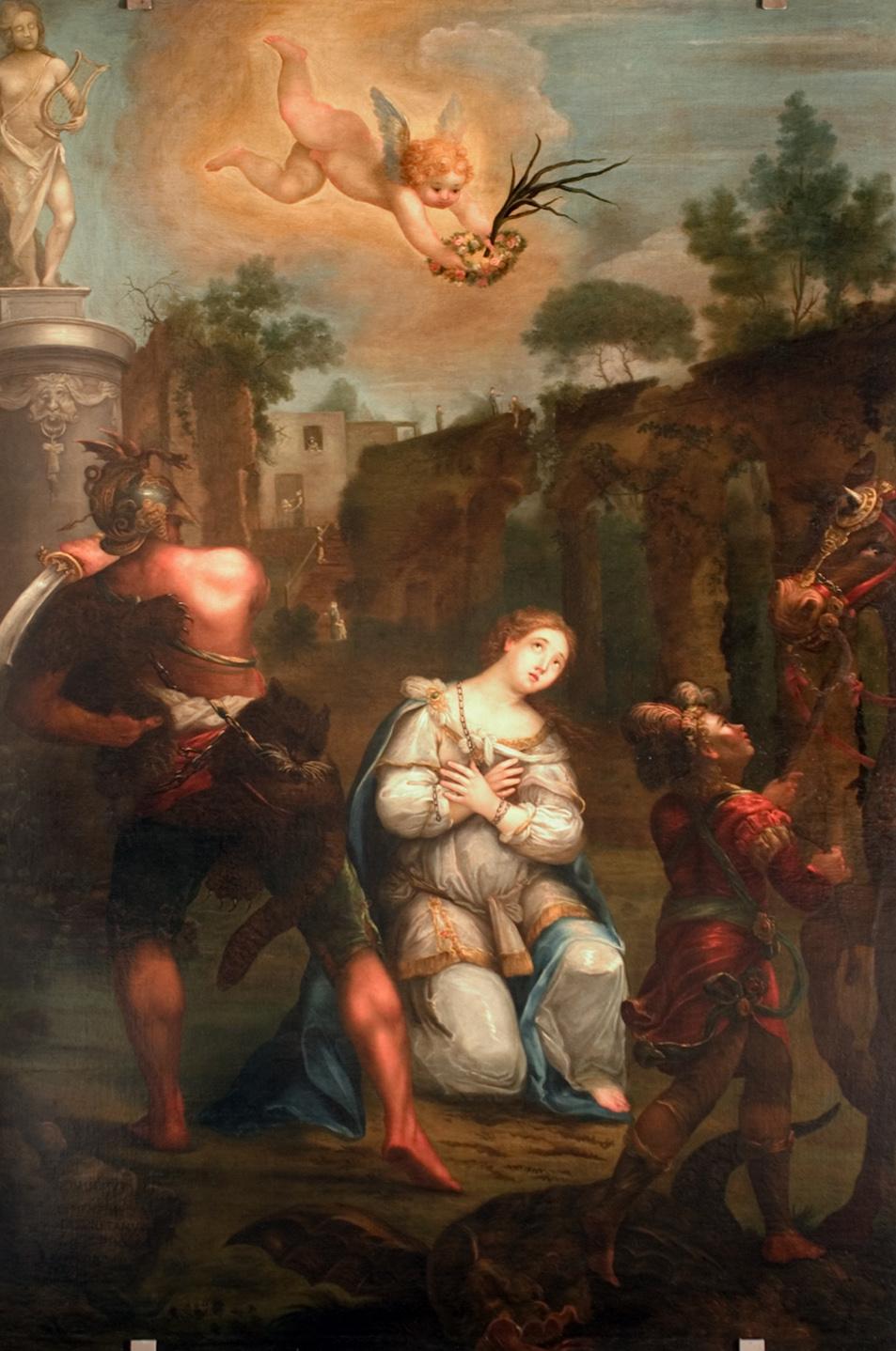 ill.11: Domenico Fiorentini, Martirio di S. Parasceve