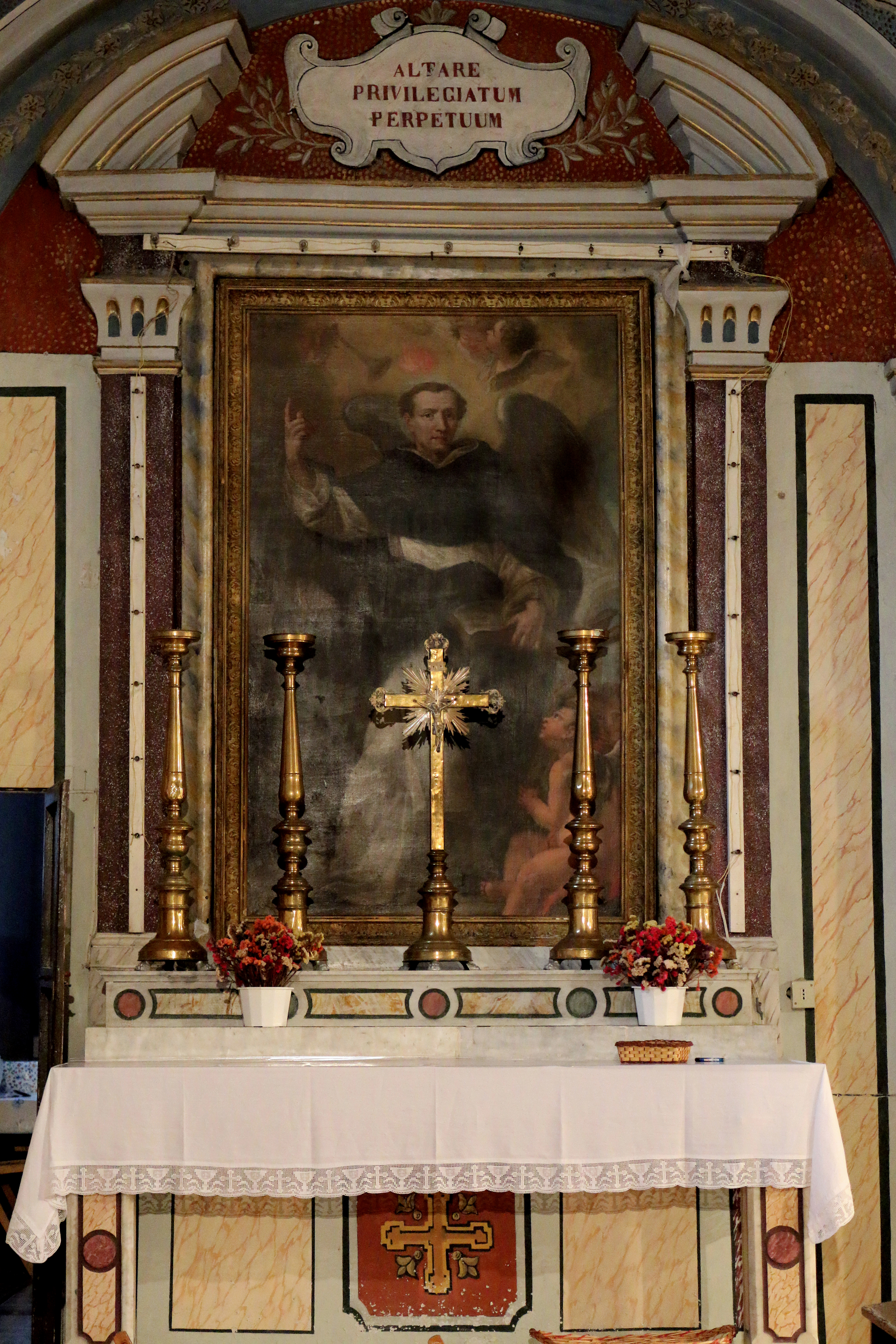 ill. 12: Autore ignoto, San Vincenzo Ferrer (sec. XVII)