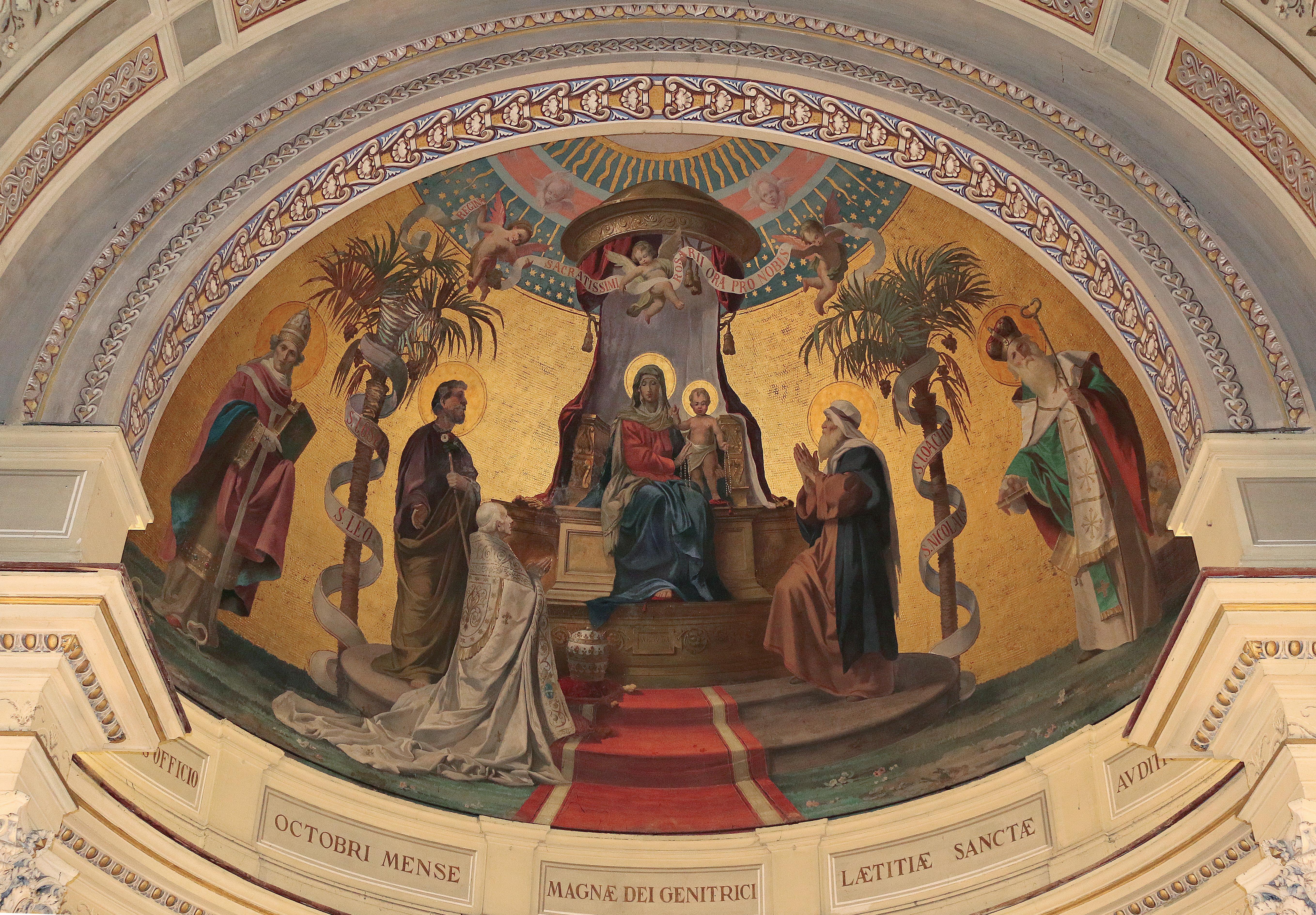 ill. 14 : Virginio Monti (fine sec. XIX), Madonna del Rosario