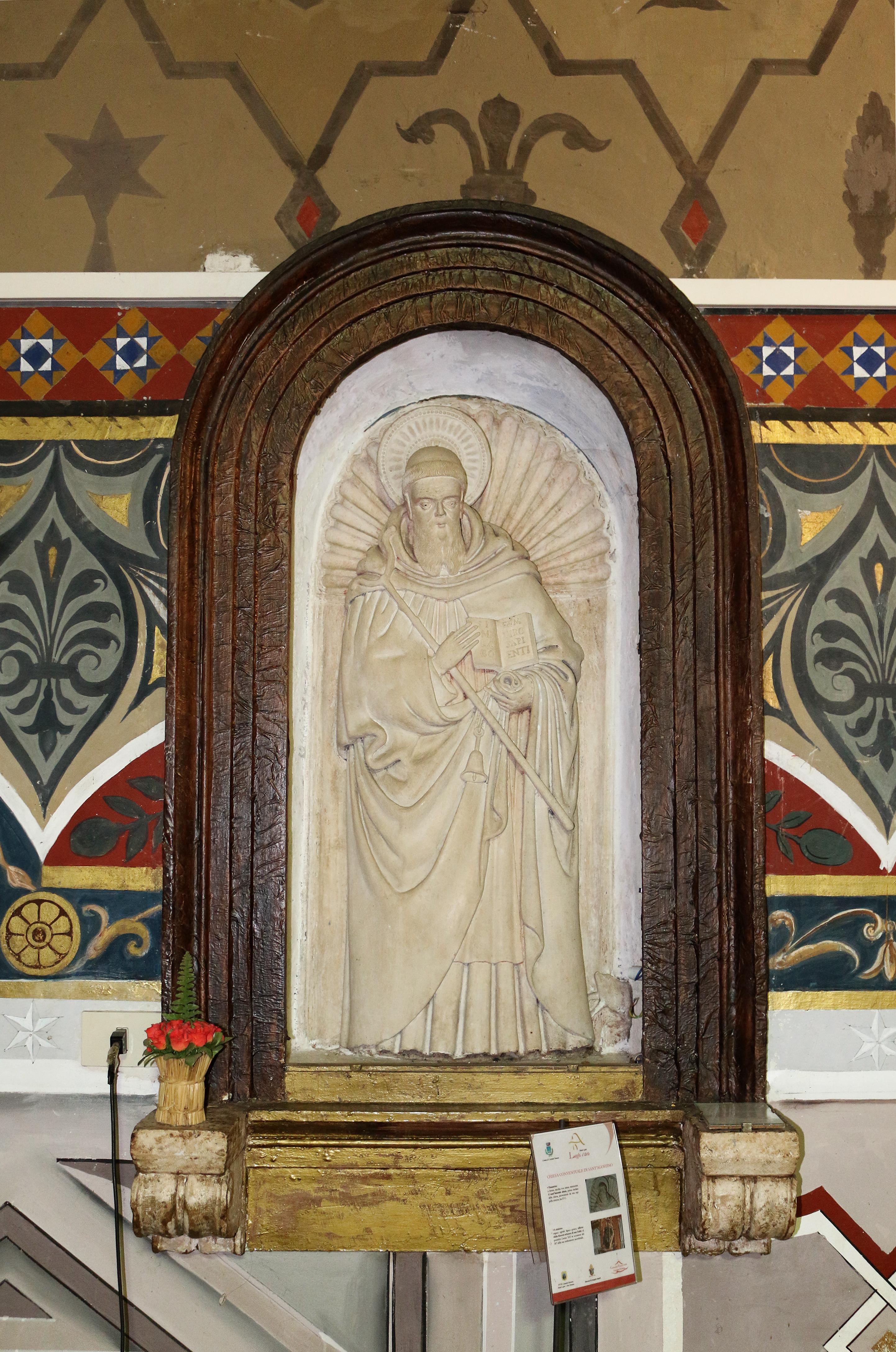ill. 15 : Autore ignoto (sec. XV), Sant'Antonio Abate