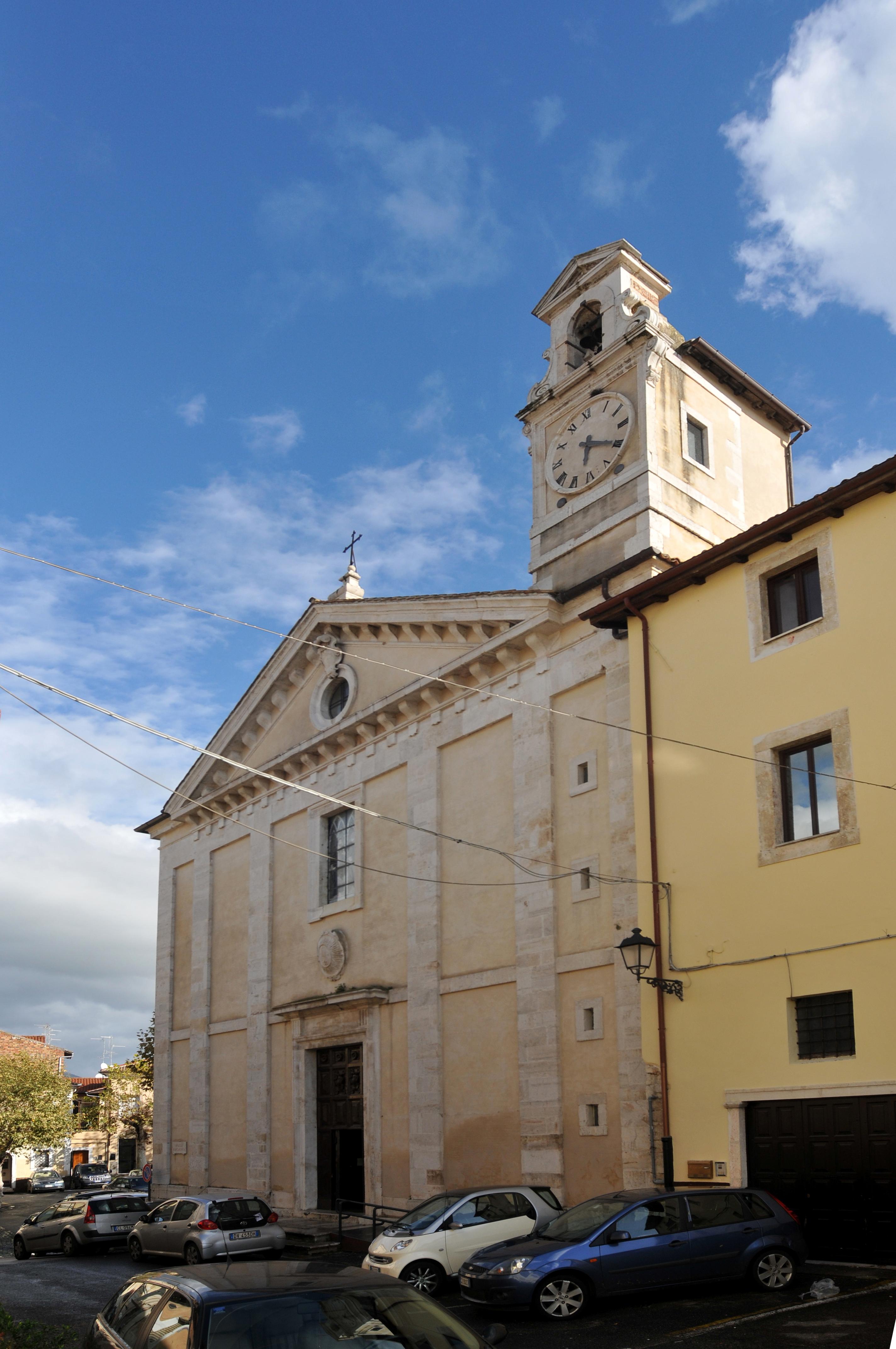 ill.17: Chiesa dei SS. Pietro e Paolo, facciata