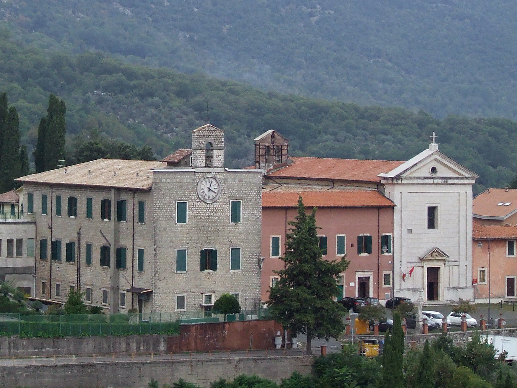 ill. 19 : Chiesa e convento di S. Pietro (sec. XVII-XIX)