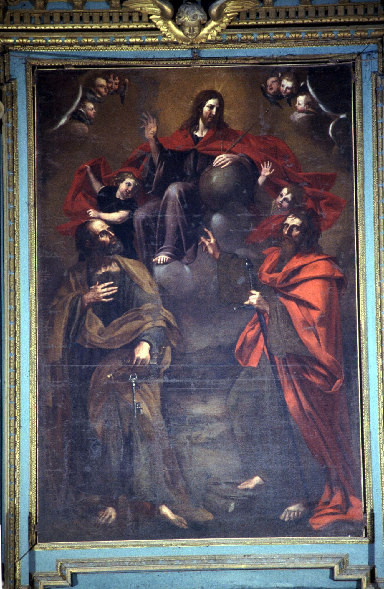 ill.19: pala raffigurante i SS. Pietro e Paolo